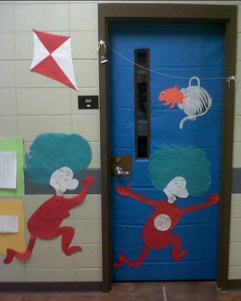 Dr Seuss School Door Decorations
