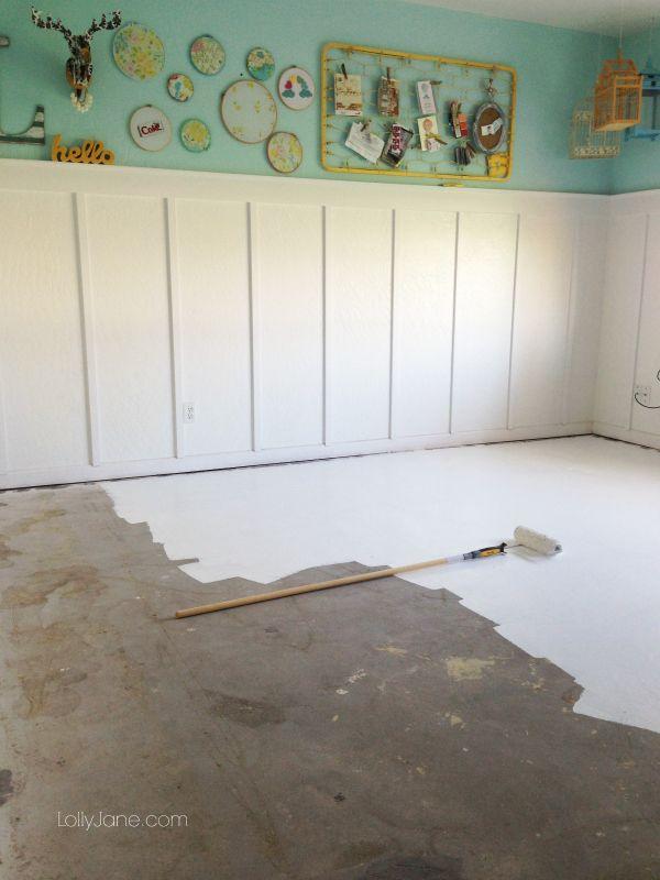 25 best ideas about Painted Concrete Floors on Pinterest