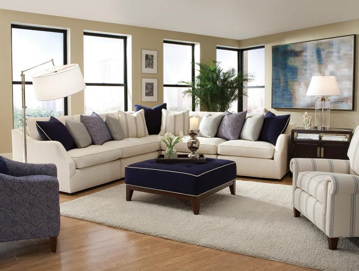 huntington sectional sofa deep seated sleeper 17 best images about family &living rooms on pinterest ...