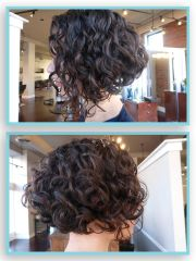 inverted bob curl stylist
