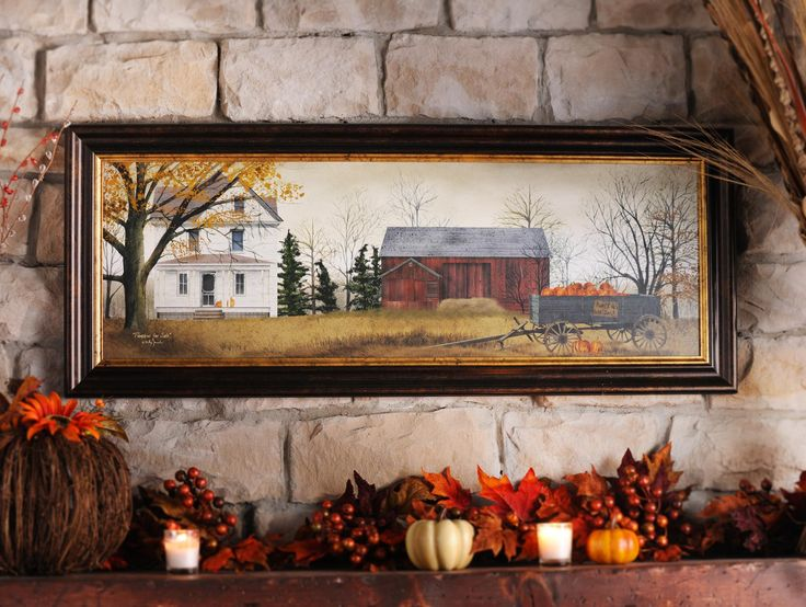 The Pumpkins for Sale Framed Art Print is a beautiful piece that will remind your guests of