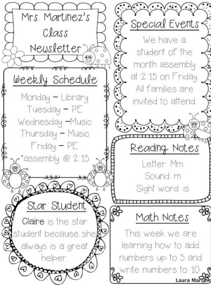 70 best images about Kindergarten Classroom Letters/Forms