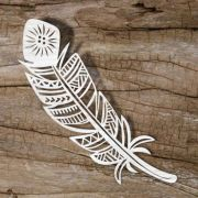 ideas feather template