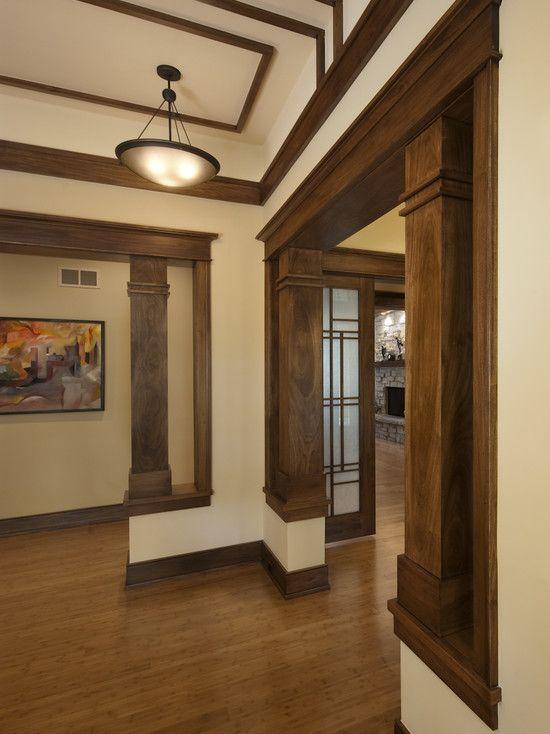 tudor kitchen remodel art work 25+ best ideas about brown trim on pinterest | wood ...