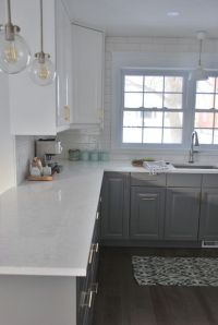 25+ best ideas about White Quartz Countertops on Pinterest