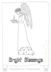 7 best images about *~* Angel Coloring Pages on Pinterest