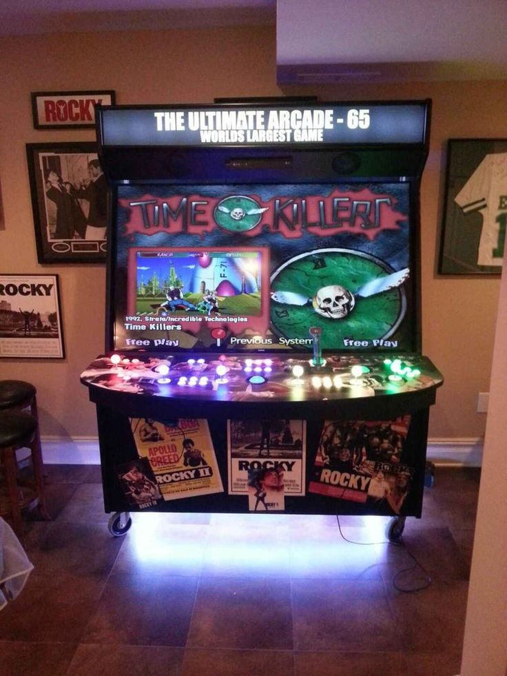 65 Samsung LED 4 Player Ultimate Arcade Machine Another