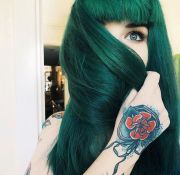 ideas dark green