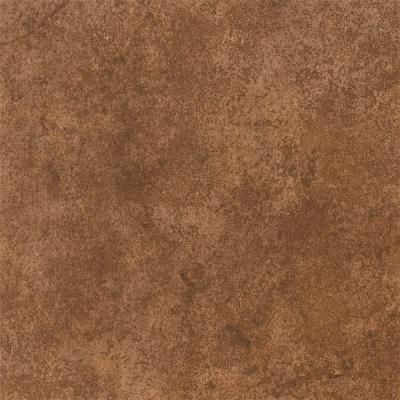home depot kitchen floor tiles cobalt blue accessories armstrong 12 in. x peel and stick brown stone vinyl ...