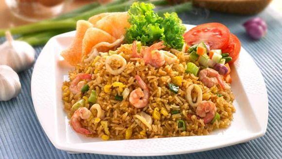Resep Nasi Goreng Seafood Istimewa  Fried Rice Nasi