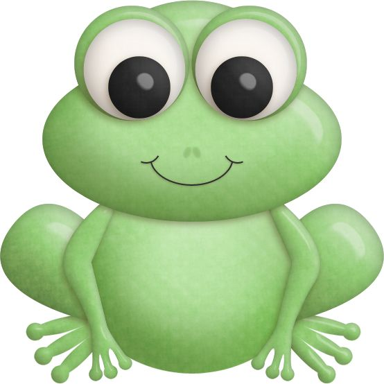 1182 frog - clipart