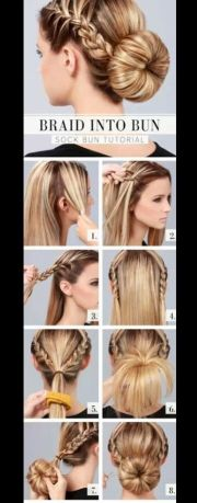 super easy quick and cute hairstyle
