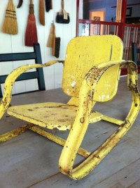 146 best images about Vintage Lawn Chairs, Gliders... on