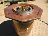 wine barrel table top - Bing Images | CAMP | Pinterest ...