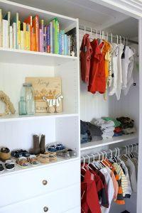 Closet Organization For a Little Boy's Room | Closet ...