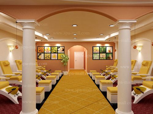 Nail Salon Designs Floor Plan  Salon Design by Spa Mall  Flickr  Photo Sharing  SPA DECOR
