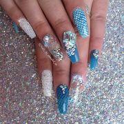 ideas aquarium nails