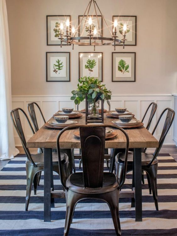 17 best ideas about Farmhouse Table Chairs on Pinterest  Farmhouse chairs Farmhouse dining