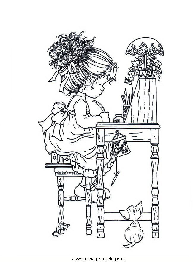 17 Best images about sarah kay coloring pages on Pinterest