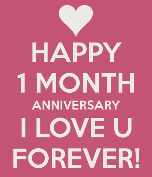 1000 ideas about One Month Anniversary on Pinterest  2