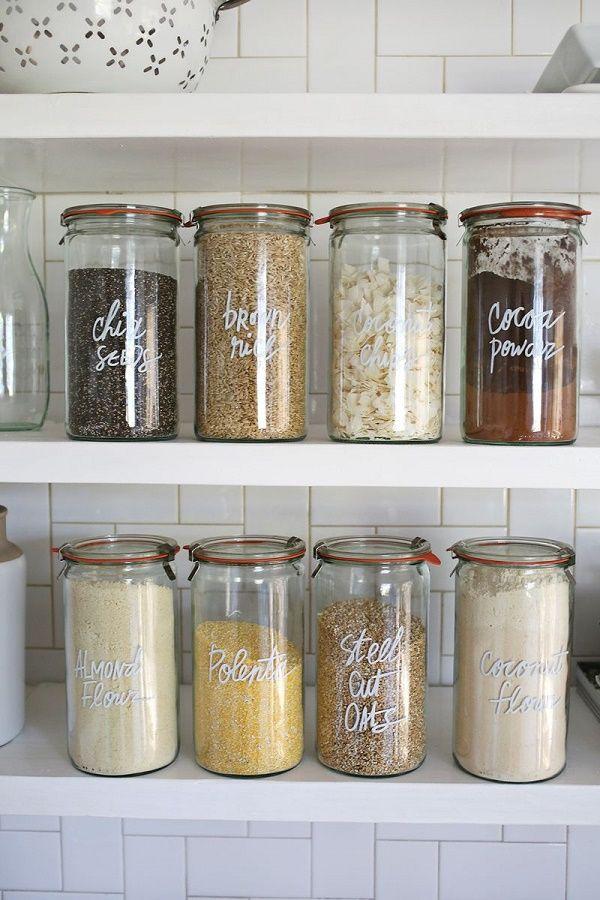 Best Ideas Kitchen Jars Organized Pantry