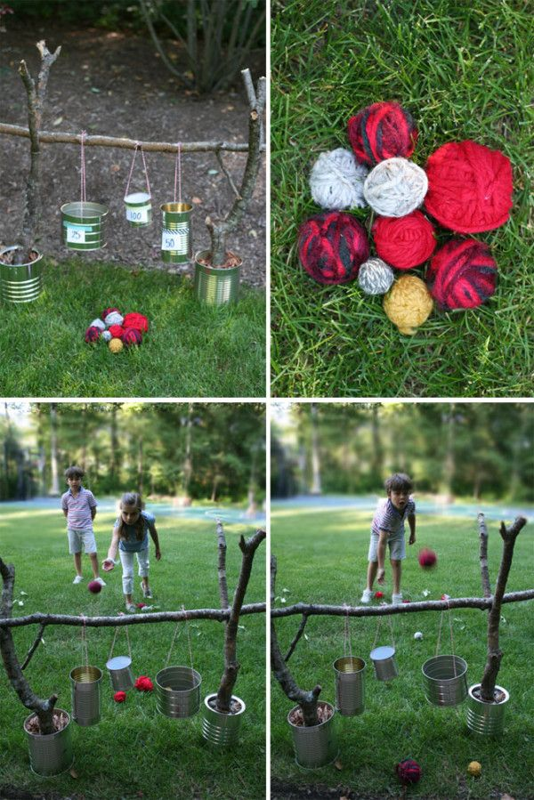 5 Outdoor Games You Can Make Yourself by Desiree Allen for
