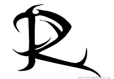 Letter A Tattoo Designs