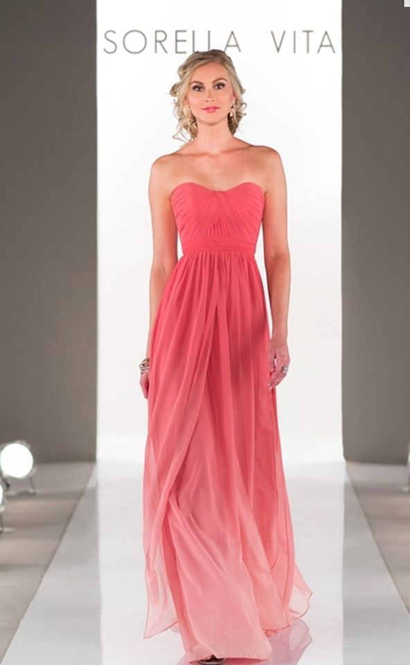 78+ ideas about Coral Bridesmaid Dresses on Pinterest