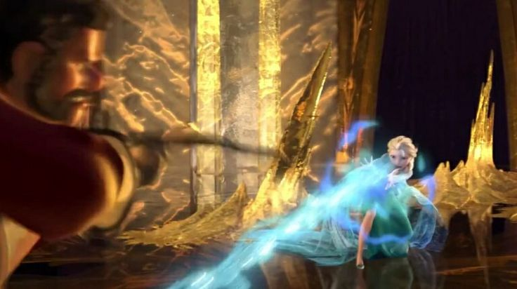 What Is Falling Action Of The Yellow Wallpaper Frozen Elsa Under Attack Epic Fight Scene Frozen