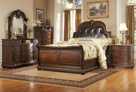 Monte Carlo 7 Pc King Bedroom  All About Bedrooms