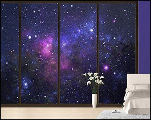 galaxy bedroom ideas  Google Search  Home Inspirations  Pinterest  Walmart Shades and