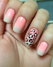 nails gradient ombr french