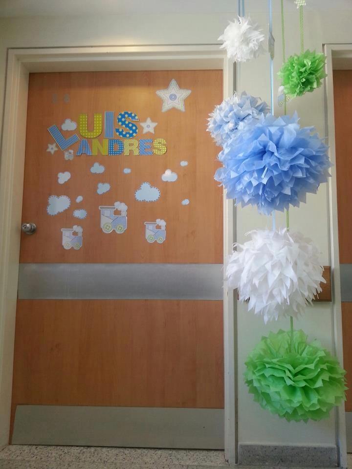 Decoracin de puertas para nacimientos  Decoracion de Puertas de Clinicas  Pinterest  Puertas