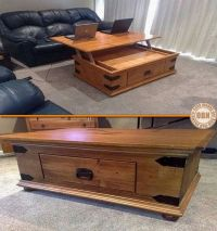 Lift Top Coffee Table Plans - WoodWorking Projects & Plans