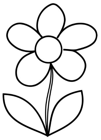 25+ bästa idéerna om Flower coloring pages på Pinterest