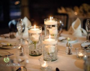 Ideas About Floating Candle Centerpieces On