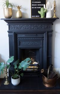 25+ best ideas about Cast iron fireplace on Pinterest