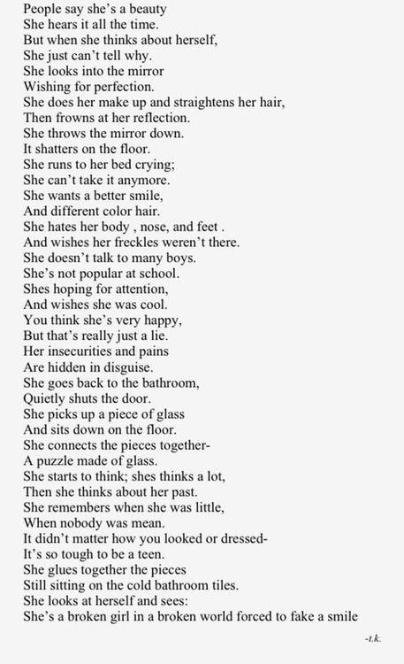 De 25+ bedste idéer inden for Sad poems på Pinterest
