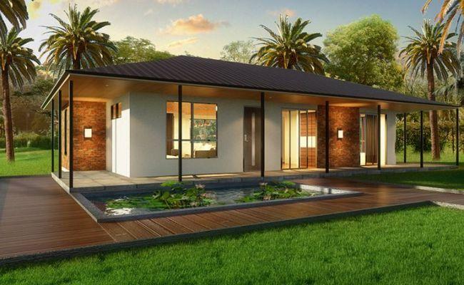 The Villa 2 Bedroom Kit Home Ecohomes Pinterest