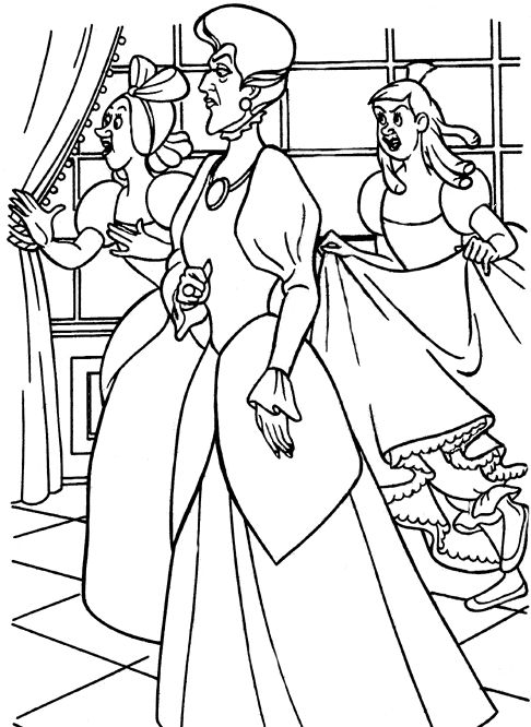 17 Best images about Disney Villains coloring pages on