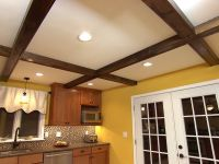 How to Install Faux Ceiling Beams | Videos, Wood ceiling ...