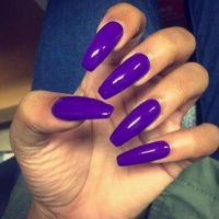 17 Best ideas about Purple Acrylic Nails on Pinterest ...