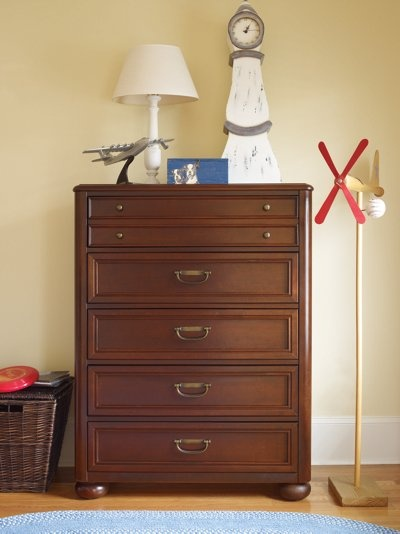 Young America Harbor Town Drawer Chest Furniture
