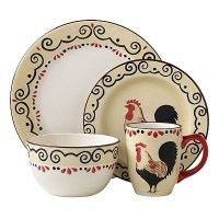 1000+ images about Rooster Dinnerware on Pinterest | Lille ...