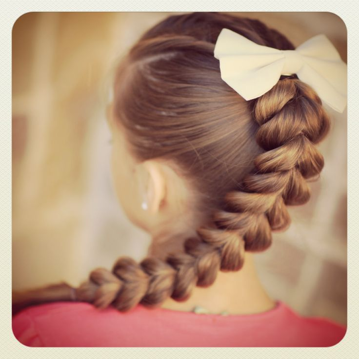14 Amazing Pull Through Braid Hairstyles For 2014 A Well