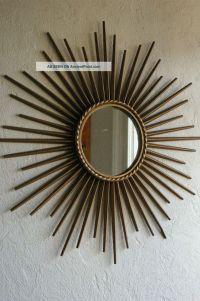 Vintage Sunburst Starburst Mirror Chaty Vallauris ...