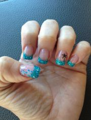 ideas beach nails