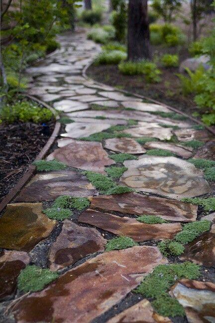 17 Best Ideas About Stone Paths On Pinterest Stone Pathways