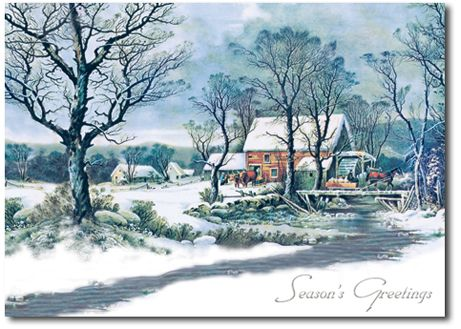 17 Best Images About Currier And Ives On Pinterest Merry