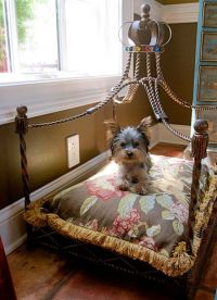 17 Best ideas about Princess Dog Bed on Pinterest